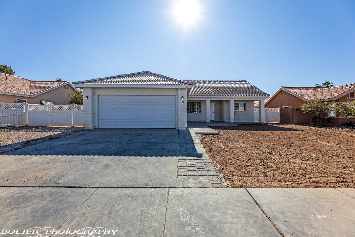 420 Second south , Mesquite NV 89027